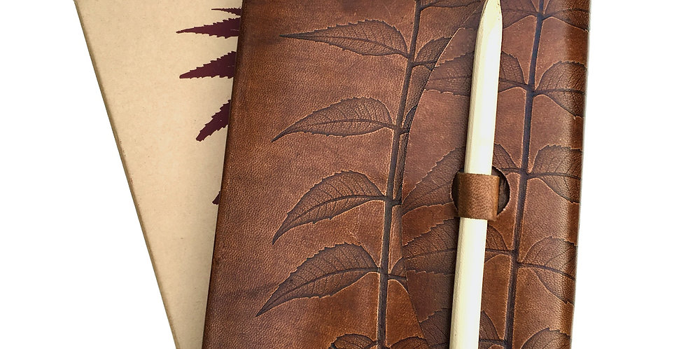 Leather Leaf Journal SK 336