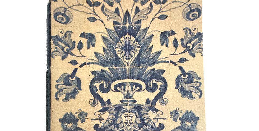 Portuguese AntiqueTile Journal SK 366A