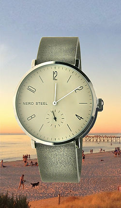 Artisan leather Byron watch by NERO Australia