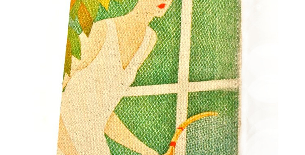 Art Deco Tennis Girl Journal SK329