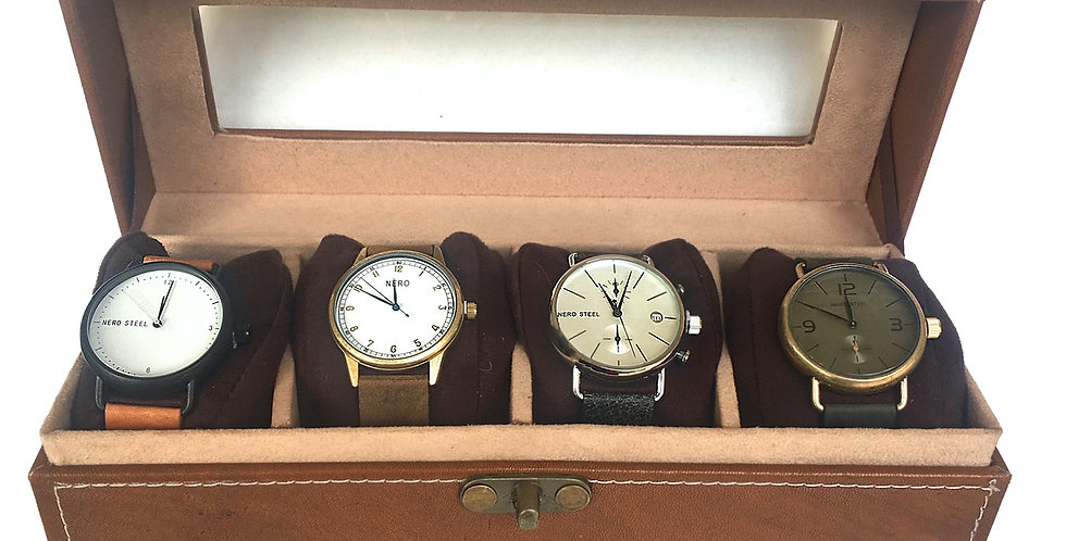 Leather watch box SK 352