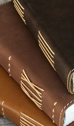 Handmade leather Portsea journals by NERO Australia