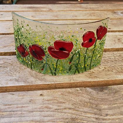 Wildflower: Poppy small panel