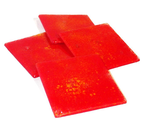 Red Fusion Coasters