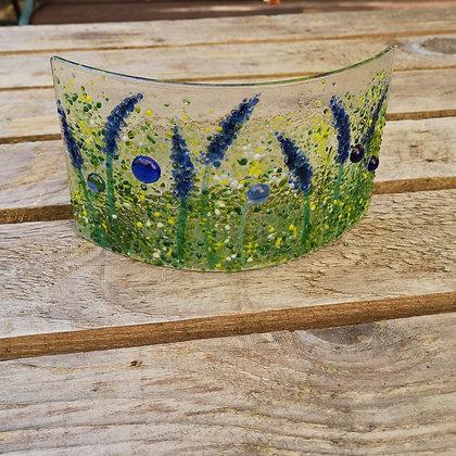 Wildflower: Allium and Lupine small panel