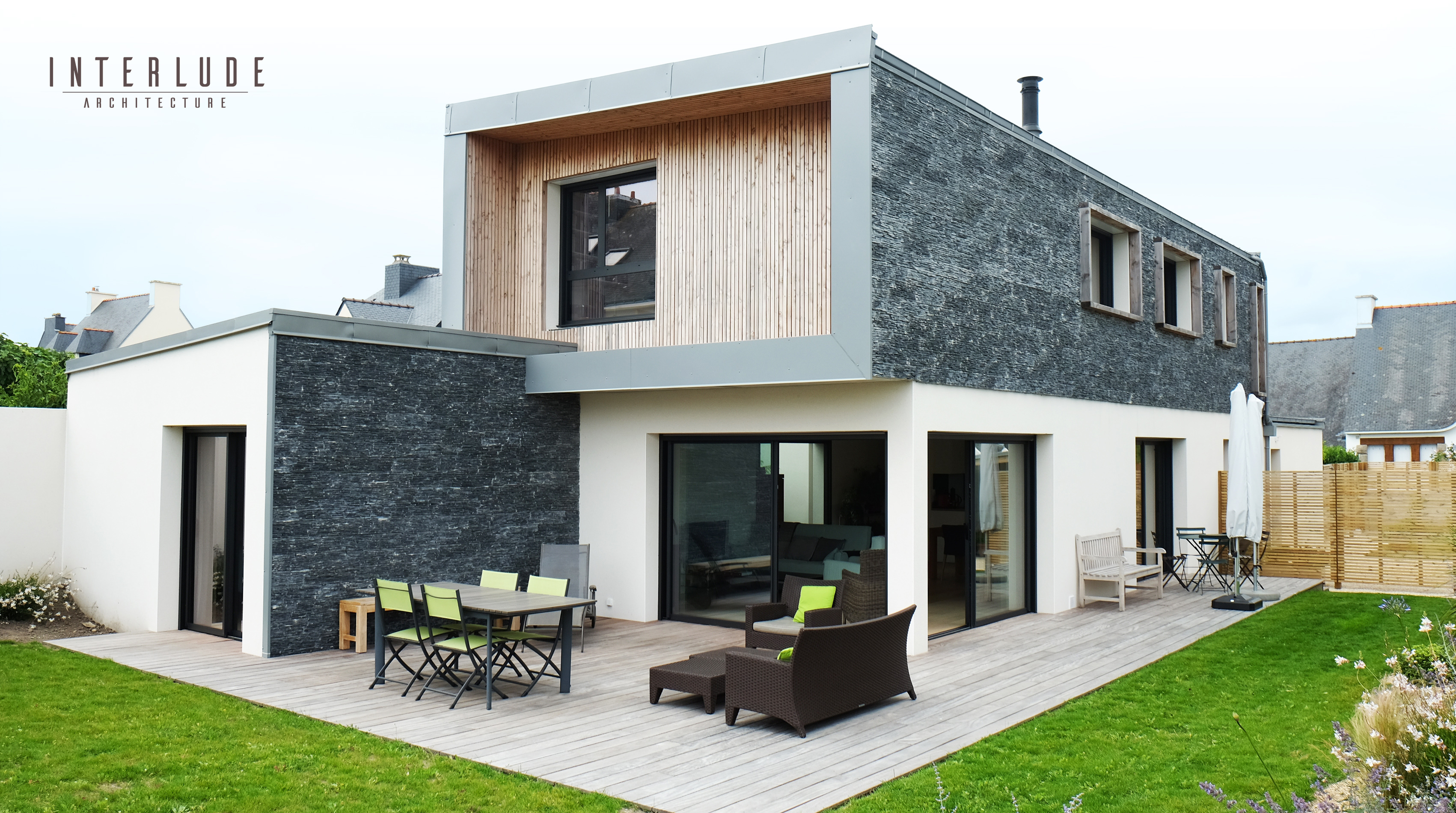 Maison architecte design Auray Lorient Guidel