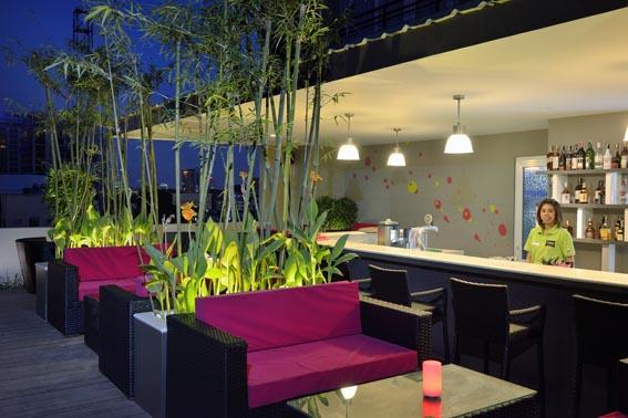 Hotel aménagement intérieur Lorient