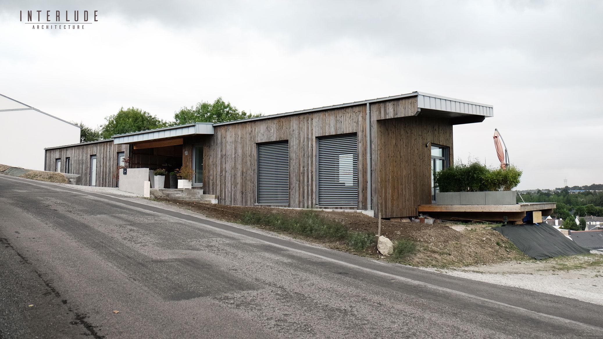 Maison passive bois morbihan Vannes
