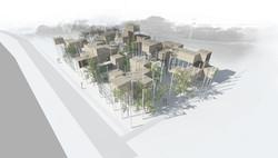 Ecoquartier - maisons modulables