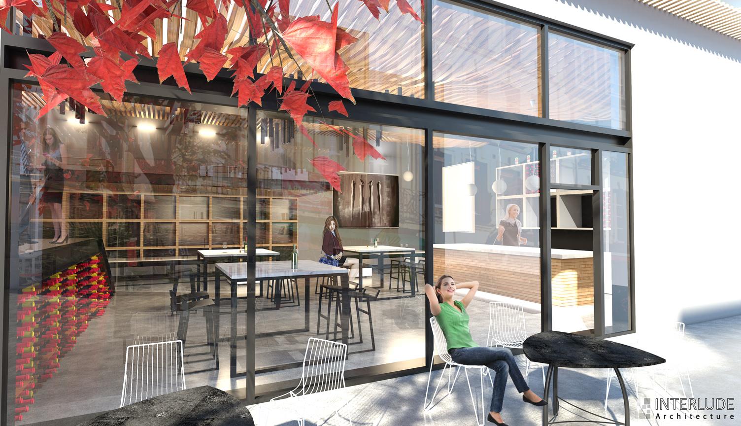 Concept bar à Vannes, Atelier IA