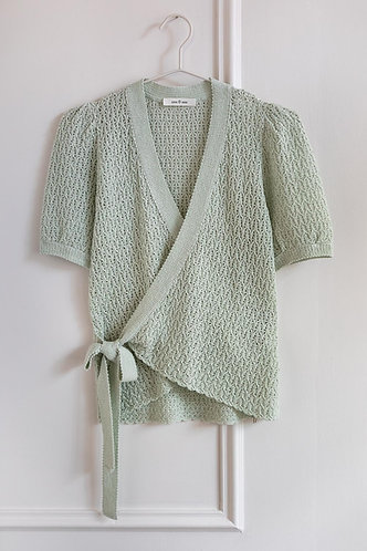 Cardigan MARINELLA WATER GREEN eseOese