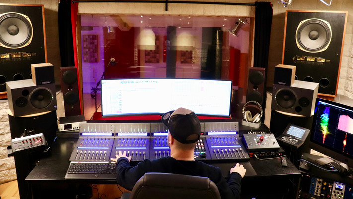 Professional music production