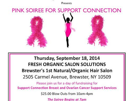 Pink Soiree For Support Connection