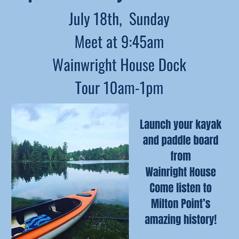 Kayak + Historical Tour