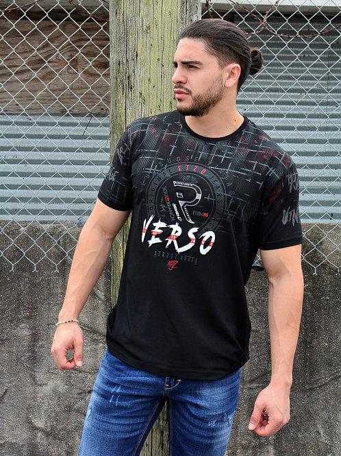 """Etzo  """"Verso"""" Urban Graphic Tee Shirt (TK7804)"""