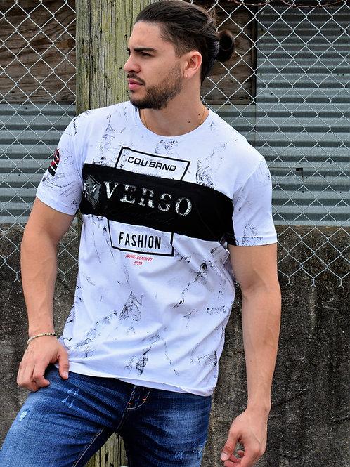 """Etzo  """"Verso Fashion"""" Urban Graphic Tee Shirt (TK7805)"""