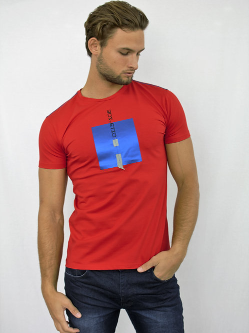 Etzo  Tee Shirt W/Square design (TB21)