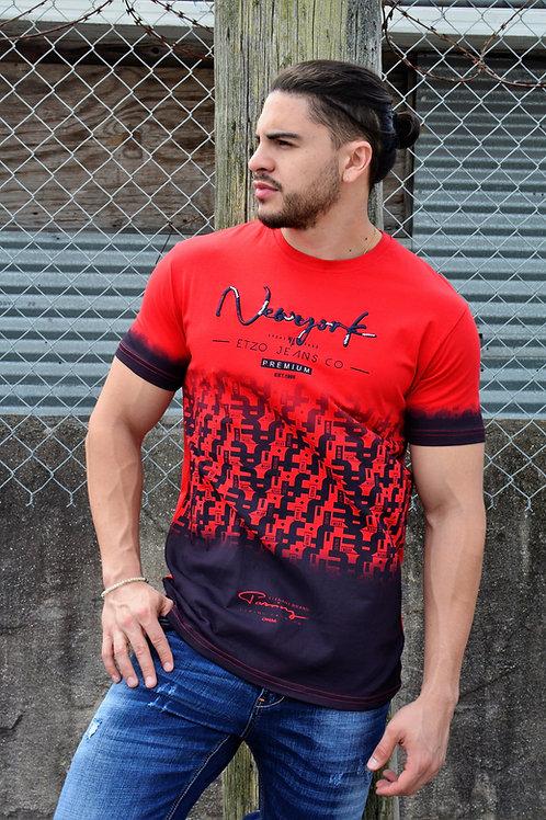 """Etzo """"New York"""" Urban Graphic Tee Shirt (TK7808)"""