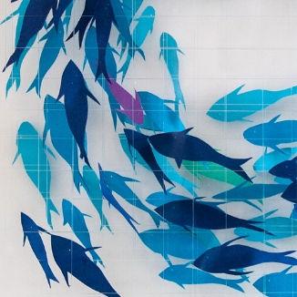 3D Wall Art Fish