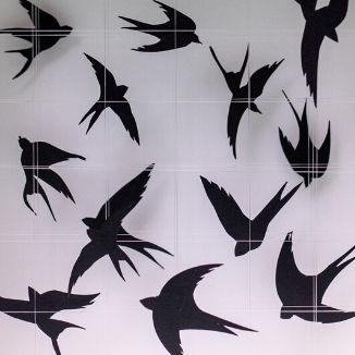 3D Wall Art Birds
