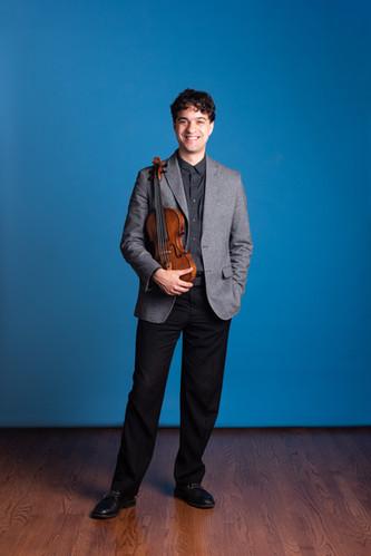 Otis Harriel, violin