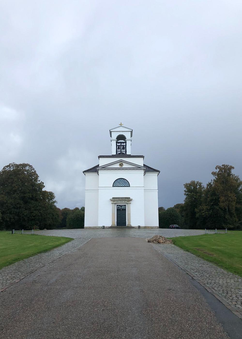 The beautiful church in Hørsholm.