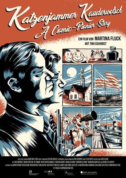 Katzenjammer Kauderwelsch - A Comic Pionier Story