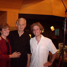 With Belinda and Bruce Broughton, Los Angeles 2012