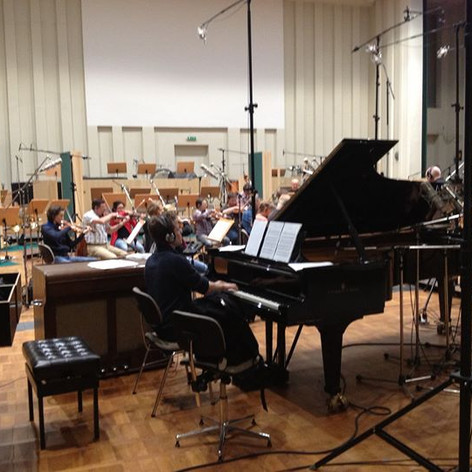 Mit dem Deutschen Filmorchester Babelsberg 2013