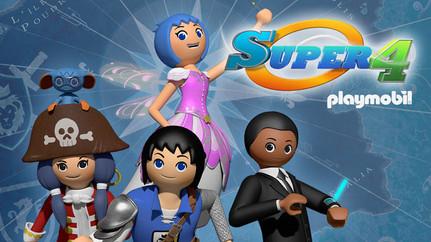 SUPER 4 - Staffel 1 und 2, Fernsehserie, 2x52x11 Min.