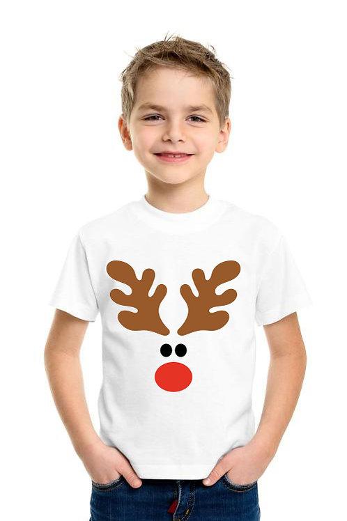Rénszarvas fiú | karácsonyi gyerek póló