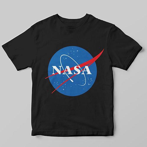 Nasa logós póló - férfi feliratos póló