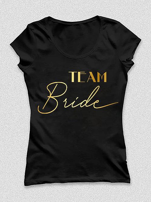 Team Bride feliratos póló lánybúcsúra -  feliratos póló