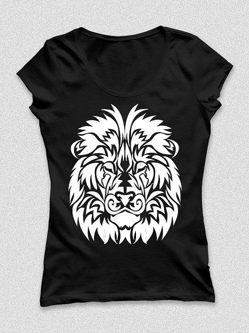 Tetovált oroszlános póló