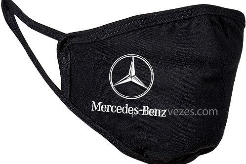 Mercedes Benz feliratos maszk, feliratozott maszk, egyedi maszk