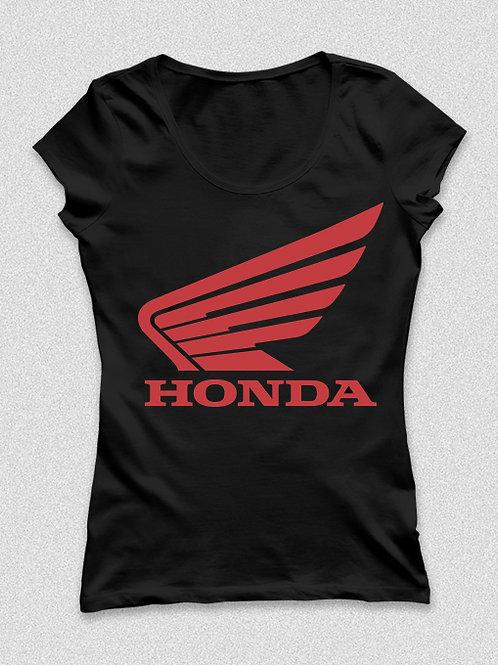 Honda feliratos női póló