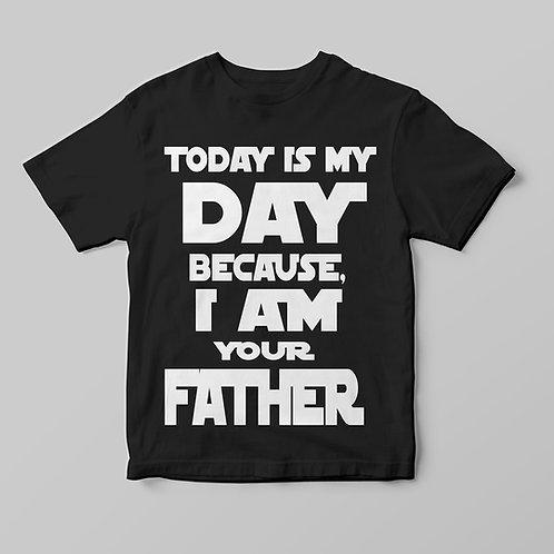 A legjobb apa, Star Wars feliratos póló