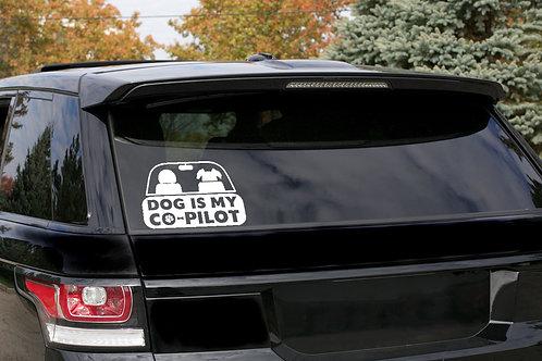 Co-Pilot Dog - Matrica