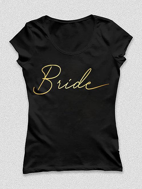Bride feliratos póló lánybúcsúra -  feliratos póló