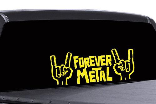Rocker Hands Metal Matrica