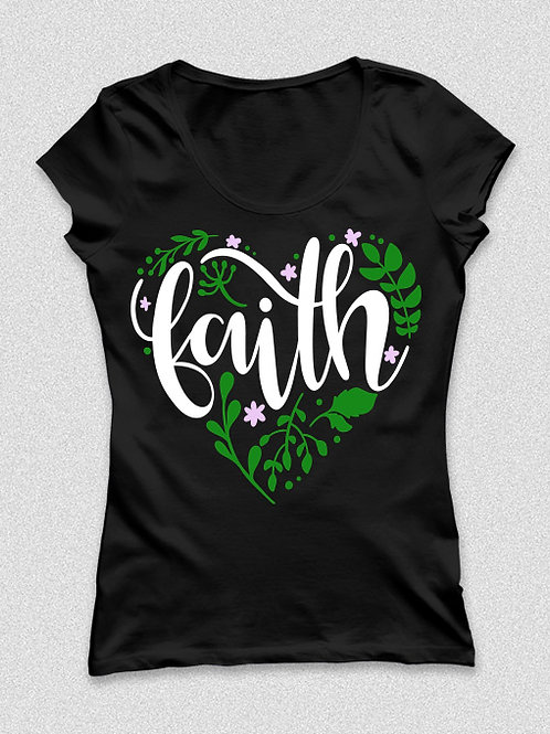 Faith | Hit -  színes, feliratos póló