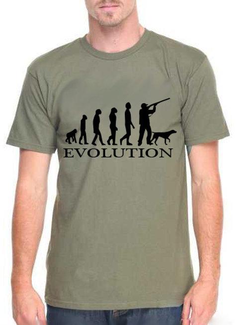 Vadász evolúció - férfi póló