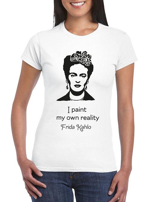 Frida Kahlo női póló felirattal