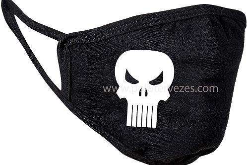 Punisher skull feliratos maszk, feliratozott maszk, egyedi maszk motoros