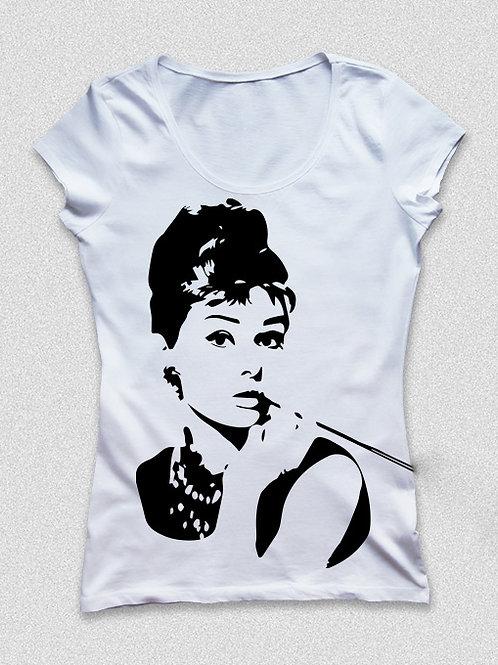 Audrey Hepburn női póló