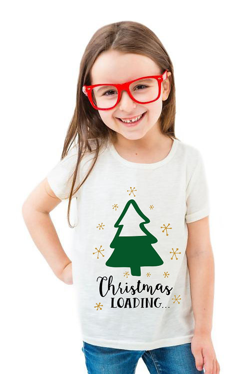 Christmas loading | A karácsony töltődik gyerek póló