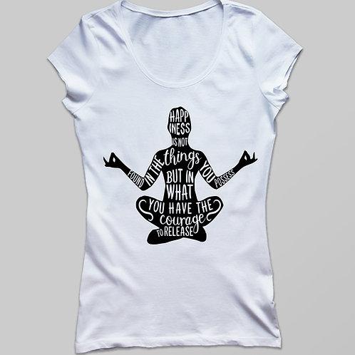 Jóga póló, Yoga póló - feliratos jóga póló