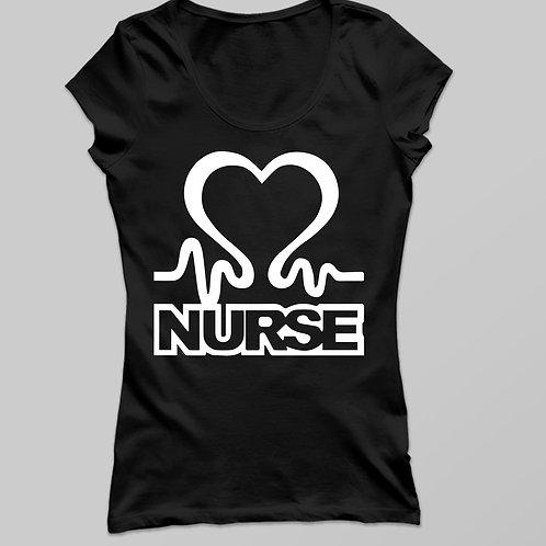 Nurse love | Ápolónő póló - női póló