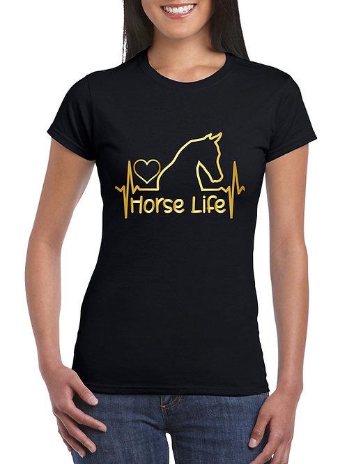 Horse Life -  lovas póló