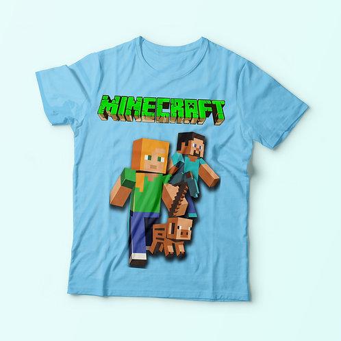 Minecraft inspired - feliratos póló